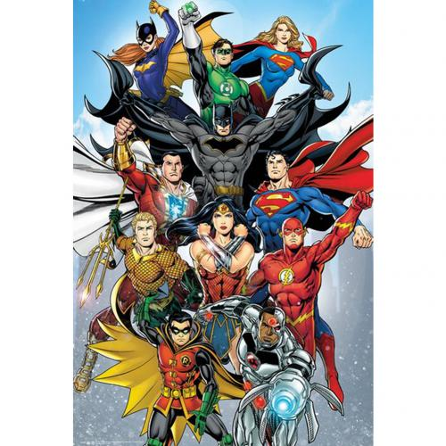 DC Comics Poster Rebirth 249