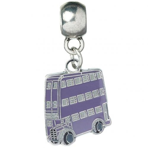 Harry Potter Silver Plated Charm Knight Bus