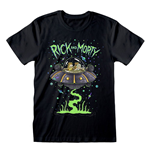 Rick & Morty T-Shirt Space Cruiser