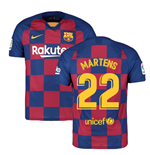 2019-2020 Barcelona Home Nike Football Shirt (Martens 22)