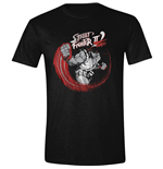Street Fighter - Ryu Sketch Black T-shirt (Unisex)