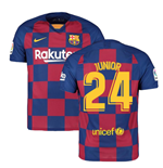2019-2020 Barcelona Home Nike Football Shirt (Junior 24)