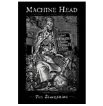 Machine Head Textile Poster: The Blackening