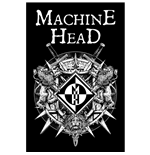 Machine Head Textile Poster: Crest