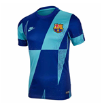 2019-2020 Barcelona Nike Pre-Match Dry Training Shirt (Cabana)