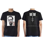Marilyn MANSON Unisex T-shirt: Heaven Upside Down Tour - summer 2017 (ex TOUR/BACK PRINT)