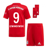 2019-2020 Bayern Munich Adidas Home Little Boys Mini Kit (LEWANDOWSKI 9)