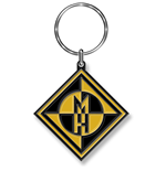 Machine Head Standard Keychain: Diamond Logo