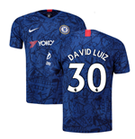 2019-20 Chelsea Home Shirt (David Luiz 30)