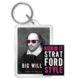 William Shakespeare Keychain 383976