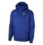 2019-2020 Chelsea Nike Authentic Cup Windrunner Jacket (Blue)