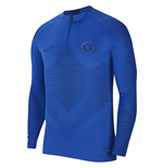 2019-2020 Chelsea Nike Strike Vaporknit Drill Top (Blue)