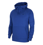 2019-2020 Chelsea Nike Fleece Hooded Top (Blue)