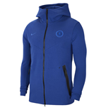 2019-2020 Chelsea Nike Tech Pack Hooded Top (Blue)