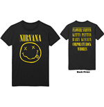 Nirvana Unisex Tee: Flower Sniffin (Back Print)