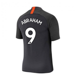 2019-2020 Chelsea Nike Training Shirt (Anthracite) (Abraham 9)