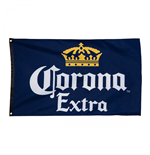 Corona Extra Navy Blue Flag