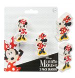 Minnie Mouse 2-Pack Erasers