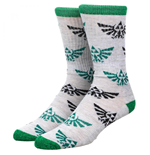 The Legend Of Zelda Triforce Athletic Crew Socks