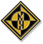 Machine Head Pin Badge: Diamond Logo