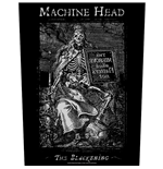 Machine Head Back Patch: The Blackening