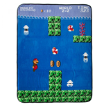 Super Mario Water World 2-2 Fleece Blanket