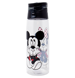 Disney Mickey and Minnie Flip Top Water Bottle