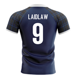 2019-2020 Scotland Home Concept Rugby Shirt (Laidlaw 9)