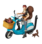 Marvel Legends Series Action Figure with Vehicle Squirrel Girl 15 cm