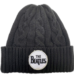 The Beatles: Drum Logo Cable Knit Beanie
