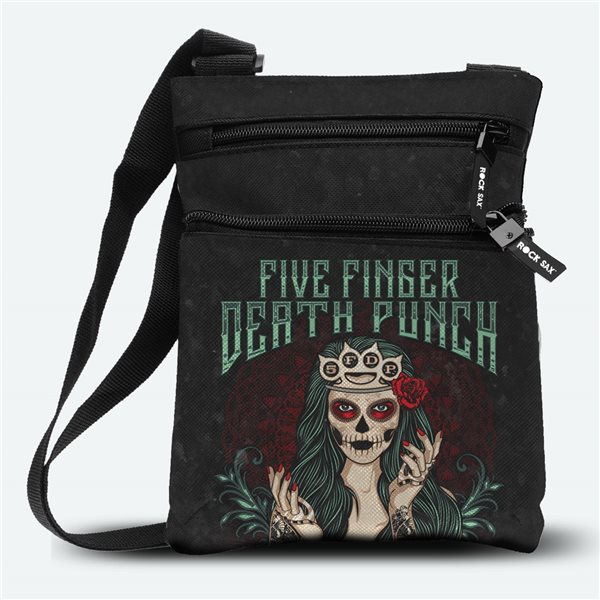 Five Finger Death Punch Bag Dotd Green (body BAG)