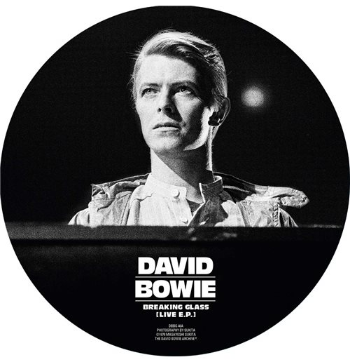 "Vynil David Bowie - Breaking Glass E.P. (Picture Disc) (7"")"