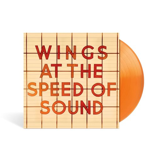 Vynil Paul McCartney - Al The Speed Of Sound (Orange Vinyl)