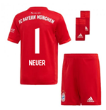 2019-2020 Bayern Munich Adidas Home Little Boys Mini Kit (NEUER 1)