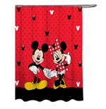 Disney Mickey  and  Minnie Mouse Classic Shower Curtain