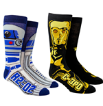 Star Wars R2-D2 and C-3PO Character Crew Socks 2-Pack