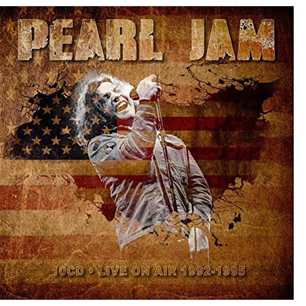 Vynil Pearl Jam - Live In San Diego 1995 (3 Lp) (Limited Halloween Orange Coloured And Numbered)