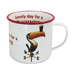 Guinness Enamel Lovely Day Toucan Mug