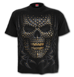 Black Gold - Front Print T-Shirt Black