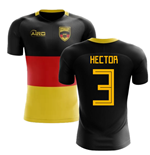 2020-2021 Germany Flag Concept Football Shirt (Hector 3)