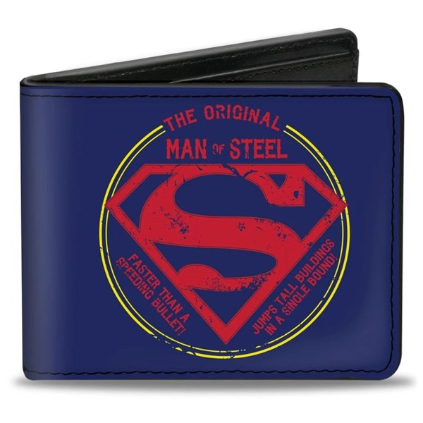 Superman Man of Steel Wallet