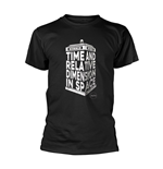 Doctor Who T-Shirt Tardis 3d