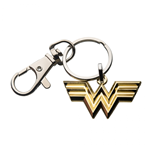 Wonder Woman Gold Symbol Enamel Keychain