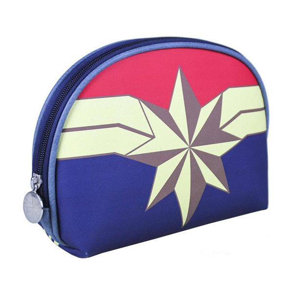 Marvel Wash Bag Captain Marvel Star