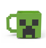 Minecraft Creeper Sculpted Ceramic Mug