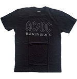 AC/DC Unisex Tee: Back In Black