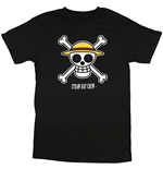 One Piece Luffy's Flag Emblem T-Shirt