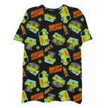Scooby Doo Mystery Machine All-Over T-Shirt