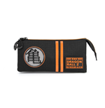 Dragon Ball Pencil Case Kame Symbol Triple