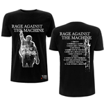 Rage Against The Machine Unisex Tee: BOLA Album Cover (Back Print)